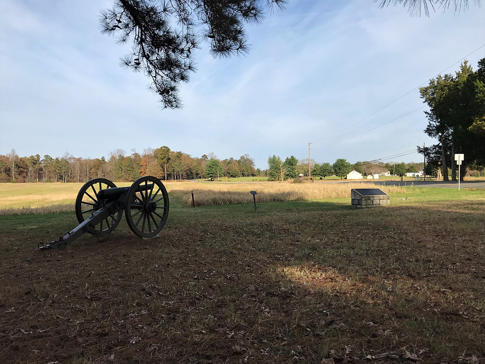 Site of Read's Battalion and the Richmond Fayette Artillery