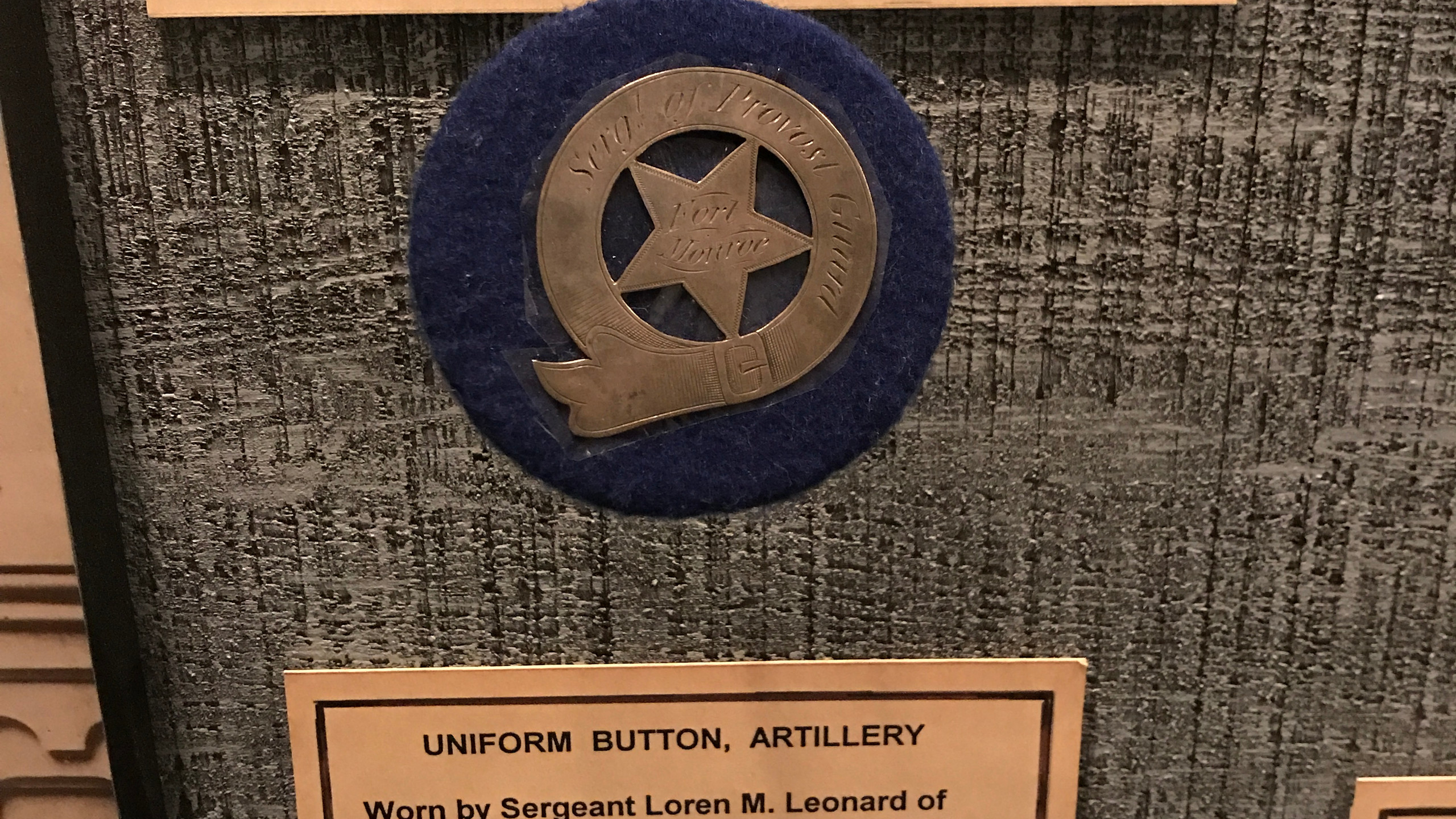 Two pieces of military history