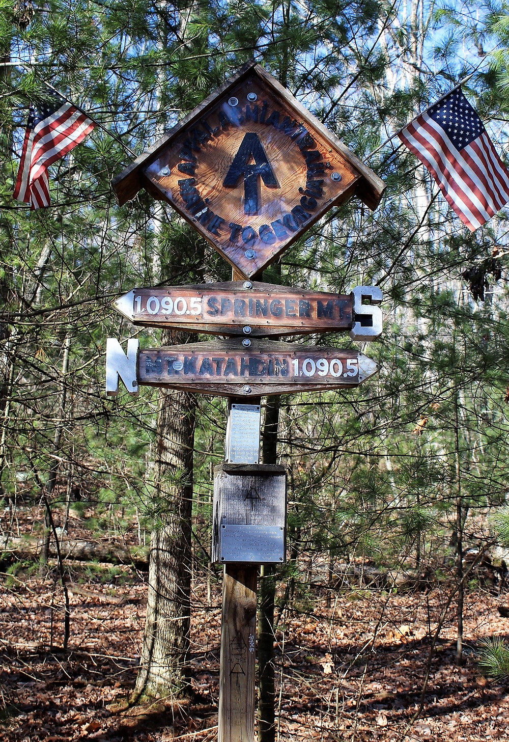 Halfway Point of the Appalachian Trail