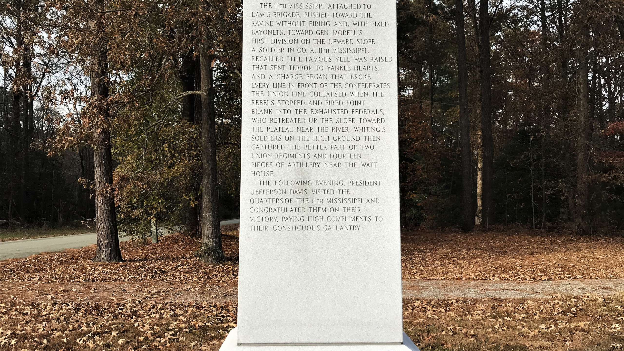 Mississippi Memorial at Gaines' Mill