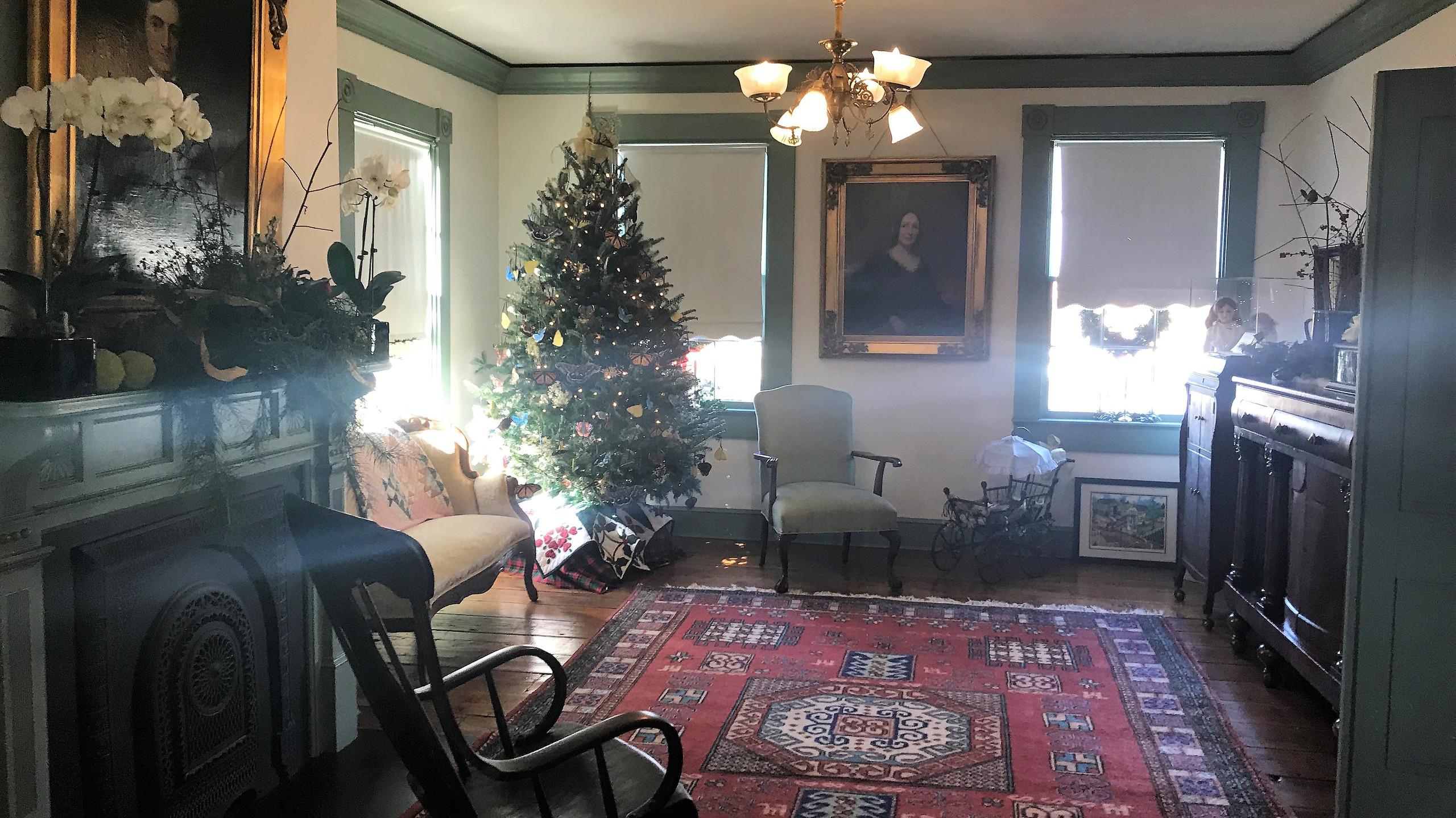 Inside the Freeman House
