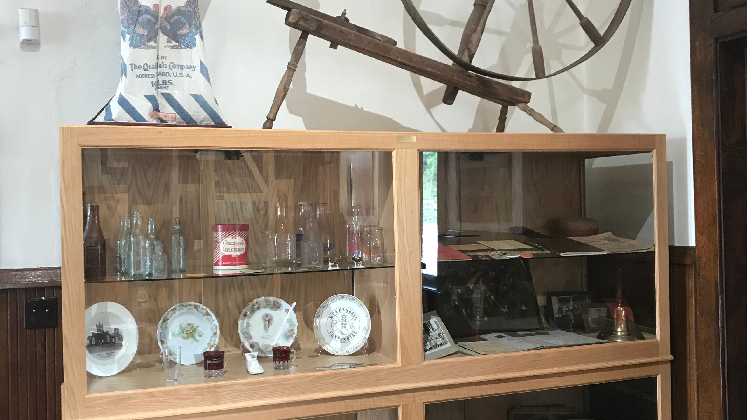 Artifacts at Meyersdale Station