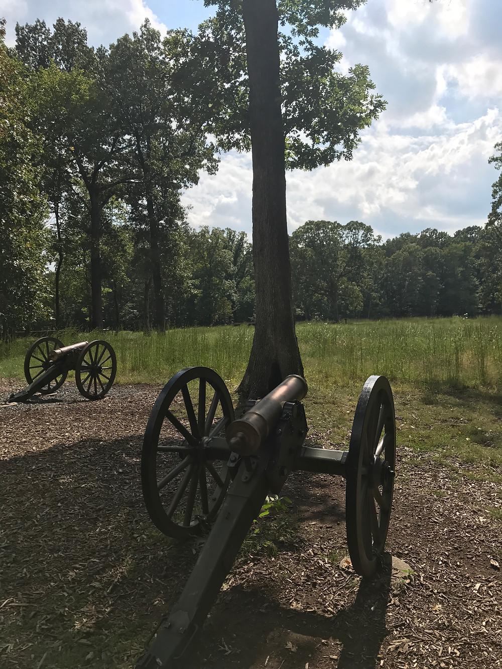 Union Artillery Line