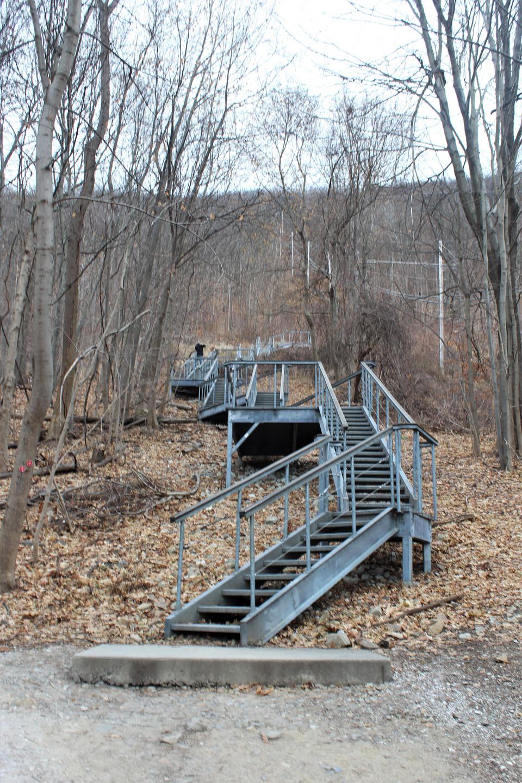 Stairway to Hudson Highlands