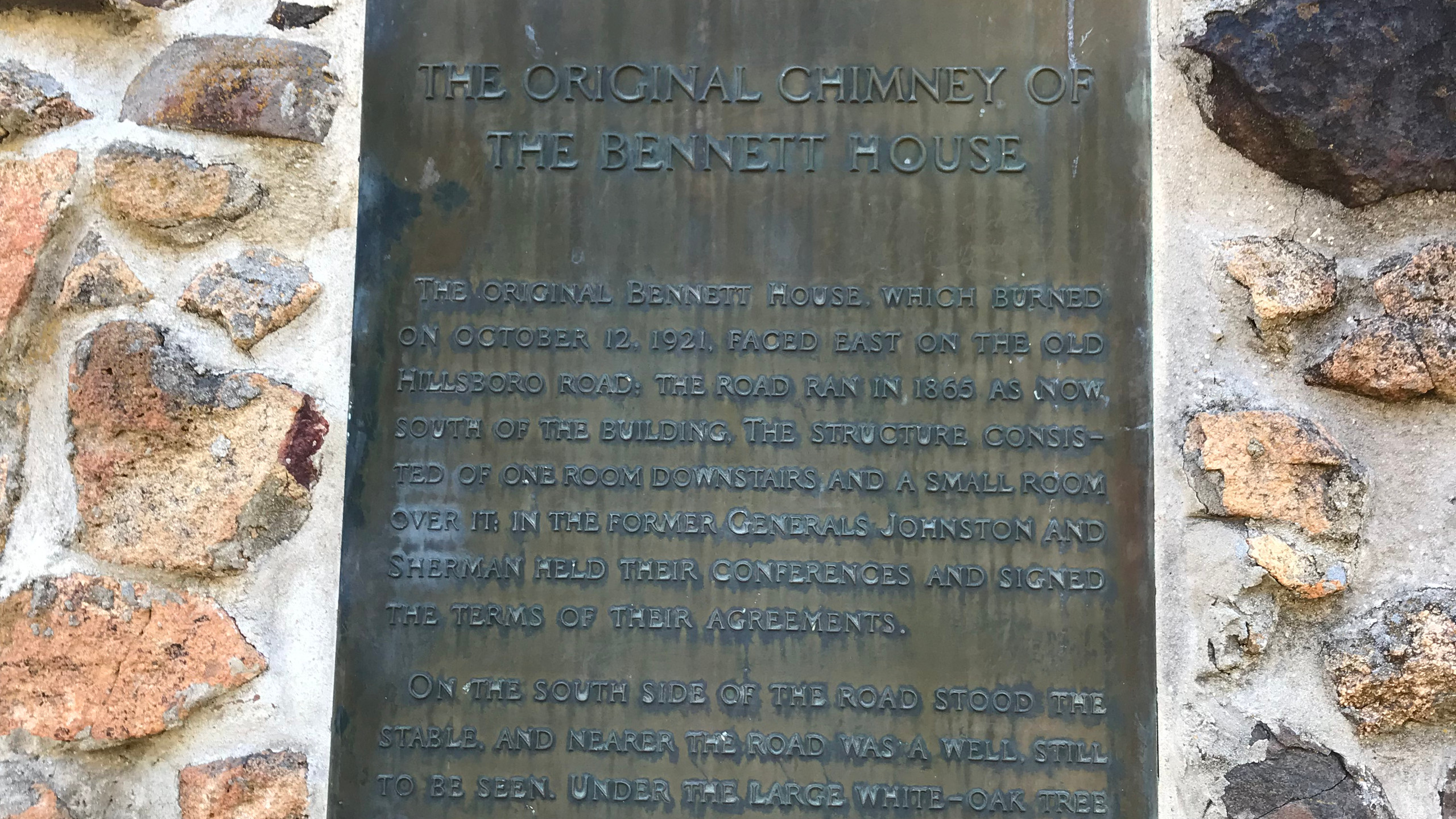 Original Bennett Chimney Marker