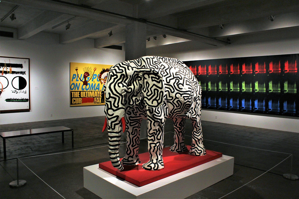 Elephant by Keith Haring (1985)