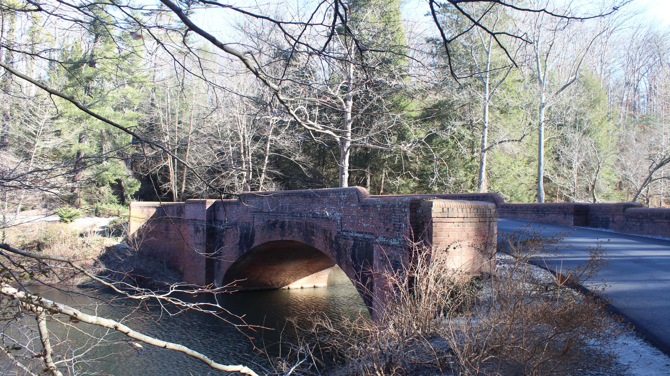 Olmsted's Brick Bridge