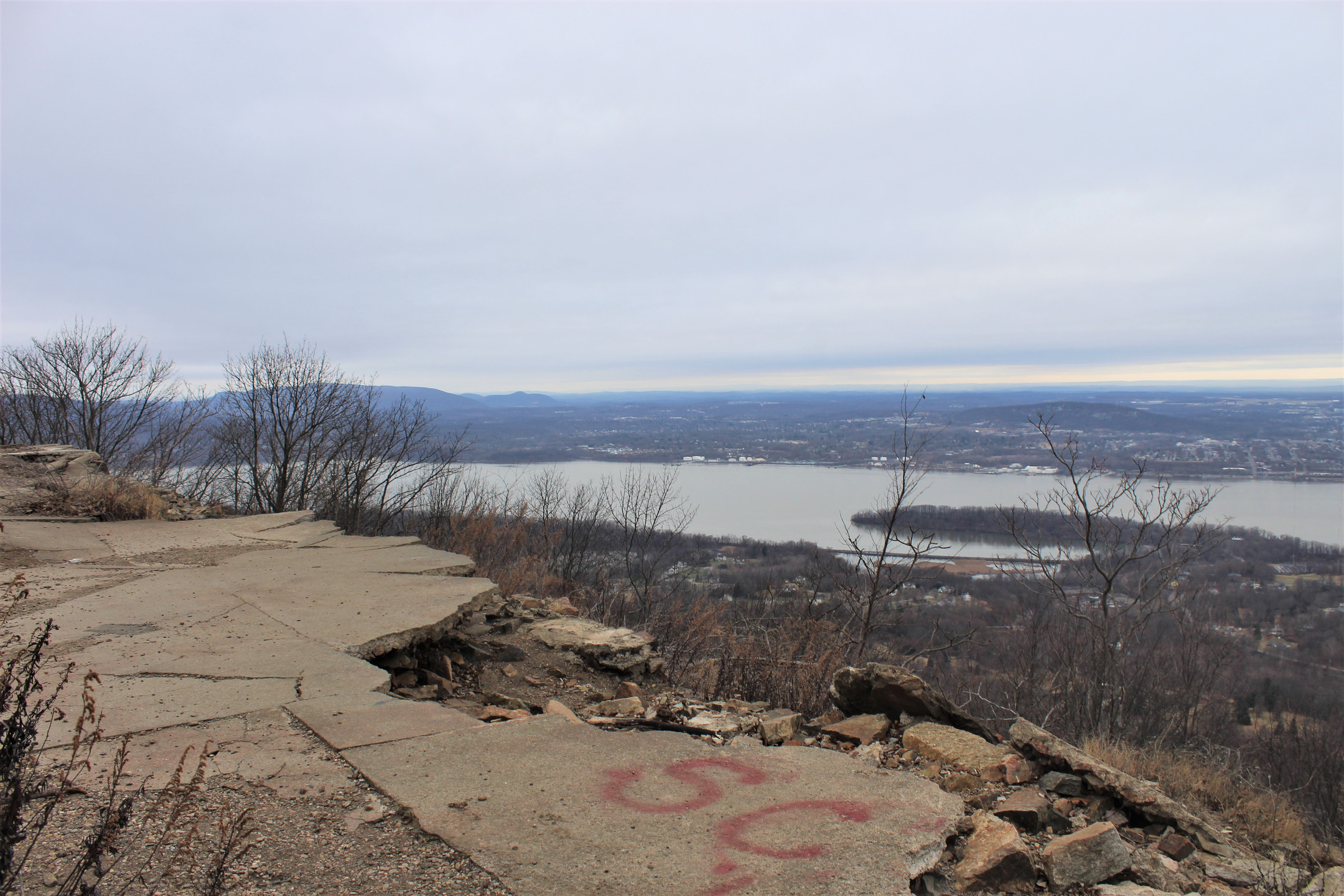 View of Hudson River