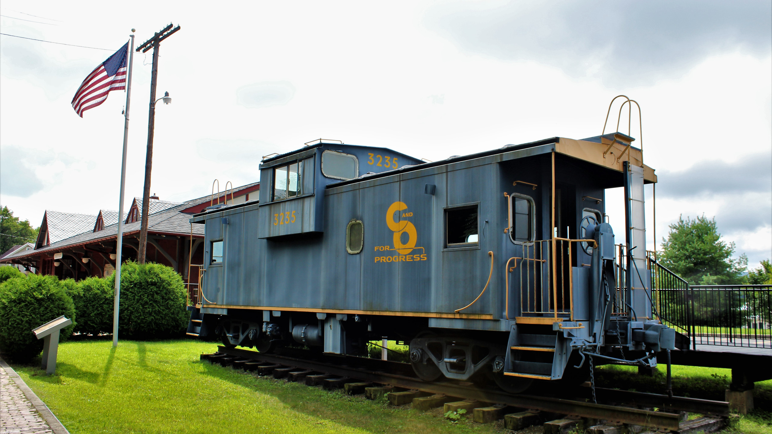 Caboose at Meyersdale