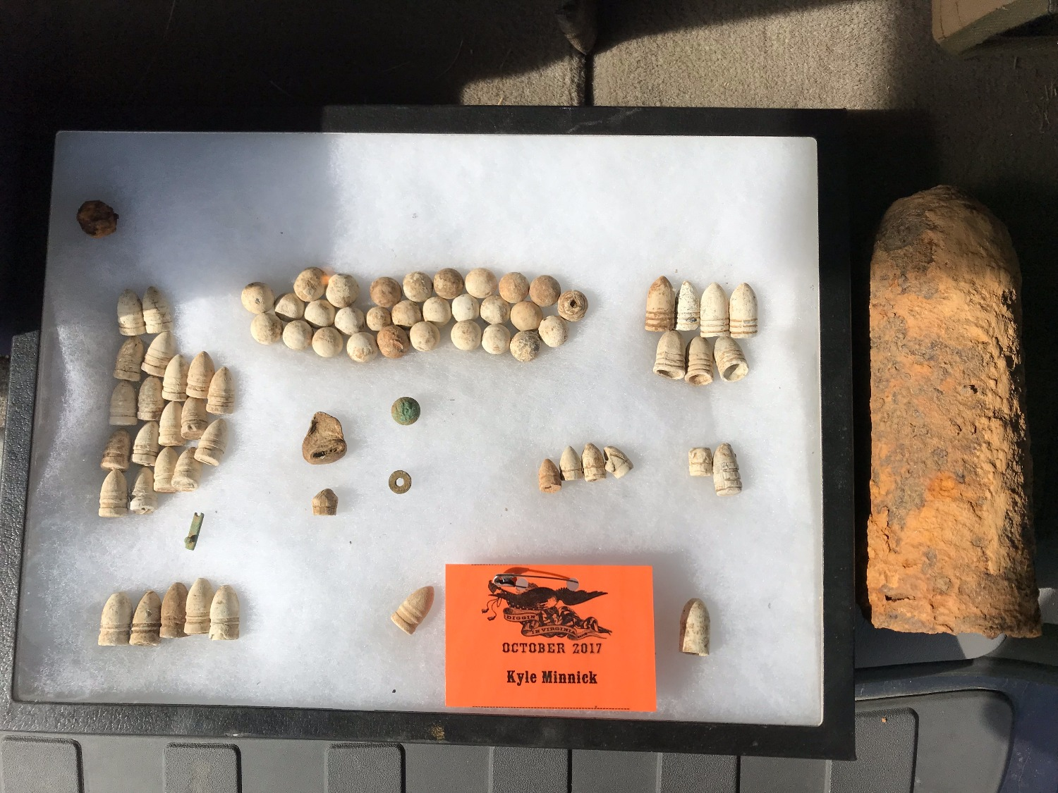 Kyle's finds for the hunt