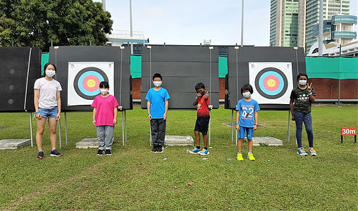 Toa Payoh  Archery 21 March 2021