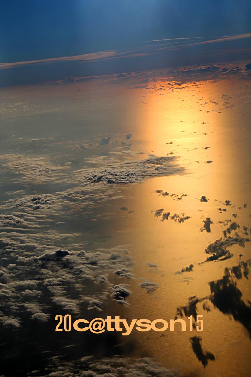 Flight over the Gulf of Mexico