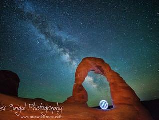 Ночные пейзажные фотографии от Max Seigal
