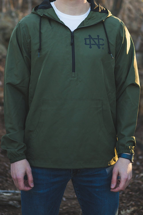 NC Army Pullover Windbreaker