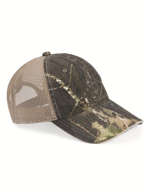 Outdoor Cap - Washed Brushed Mesh Cap
