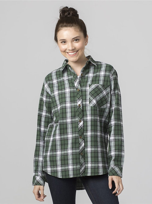 Boxercraft - Women's Flannel Shirt - F50