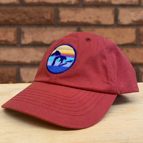 Great Lakes Twill Hat | Rose