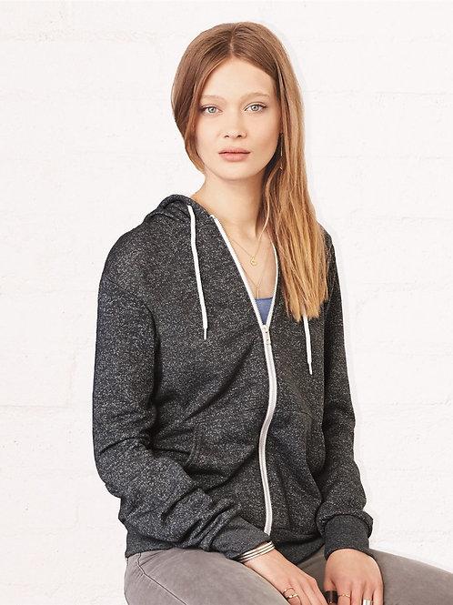 Bella + Canvas - Unisex Full-Zip Hooded Sweatshirt - 3739