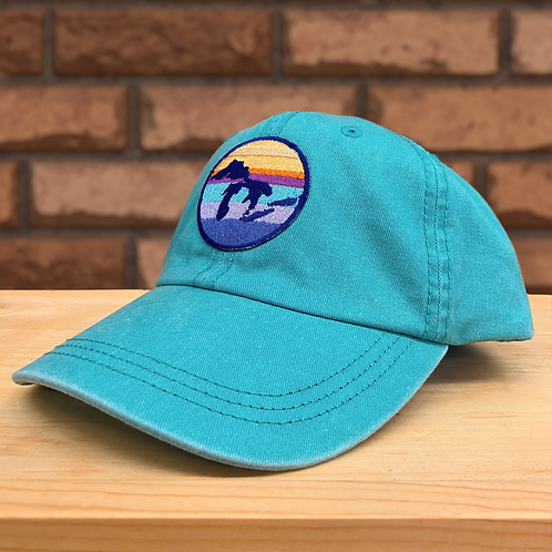 Great Lakes Twill Hat   Seafoam