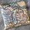 Thumbnail: Michigan Map Throw Pillow