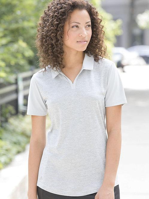 Adidas - Women's Heather Block Sport Shirt - A146