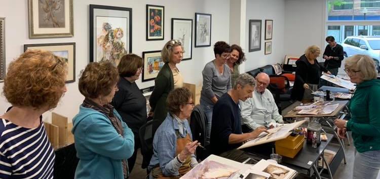 workshop with visiting artist Vlad Yeliseev