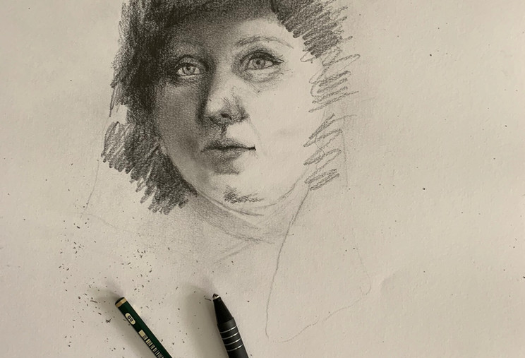 In drawing class