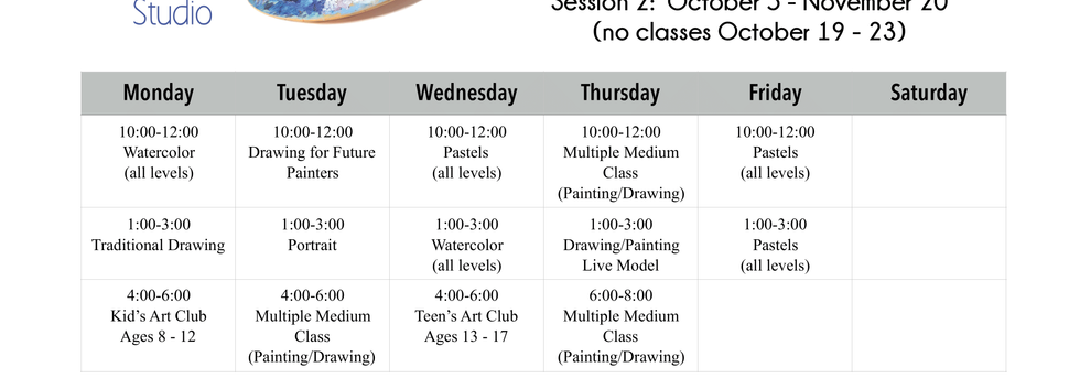 Class Schedule Fall Session 2020.png