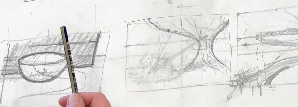 In Drawing for Future Artists class