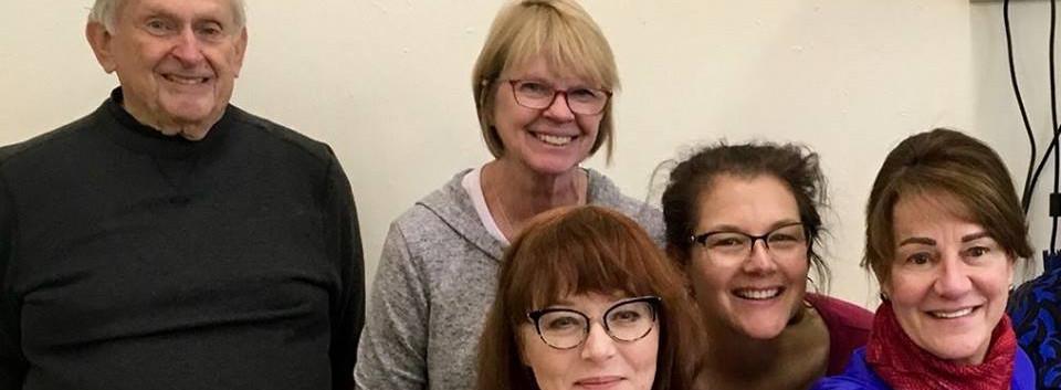 Irina with students