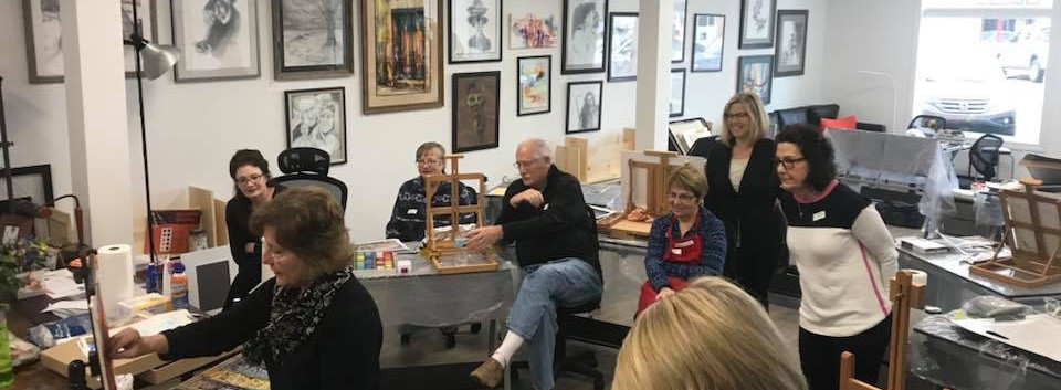 workshop with a visiting artist