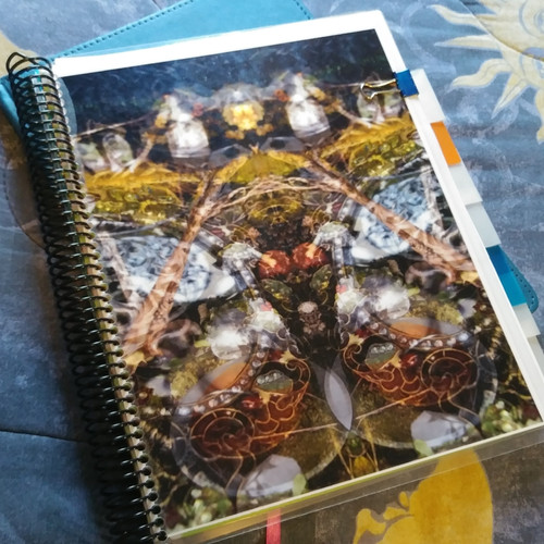 Spiral bound on long or short edge
