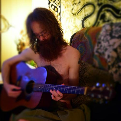 Dane playing @ HappyHoller