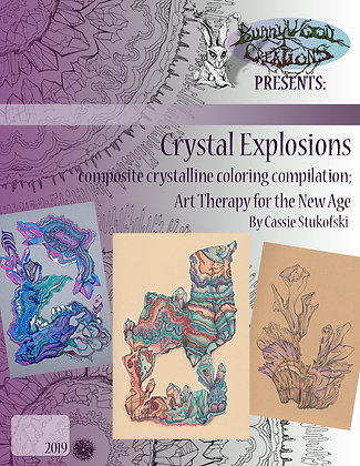 Crystal Explosions: Composite Crystalline Coloring Compilation