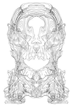 Rorschach Formation V8; Coloring Poster