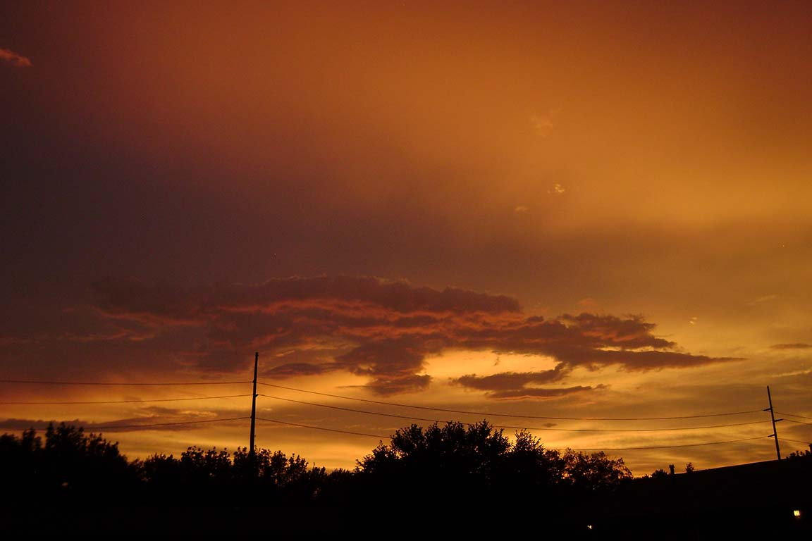 Peachy Sunset