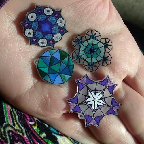 Shrinky Gems