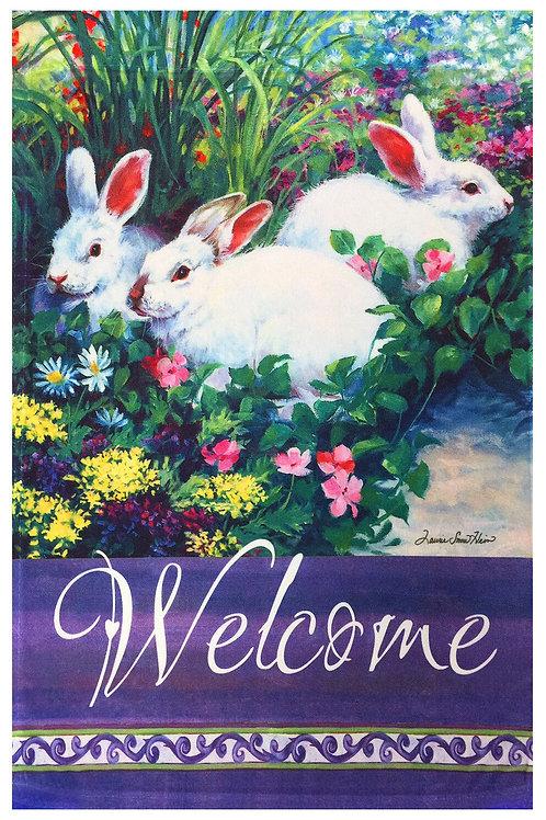 Easter Bunnies Welcome