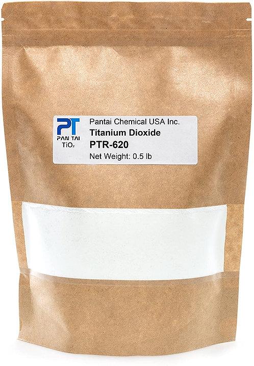 Pantai PTR-620 Titanium Dioxide TiO2, (0.5lb/8oz) Good for Soap making