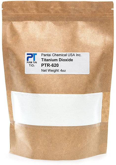 Pantai PTR-620 Titanium Dioxide TiO2, 1 lb. Good for Soap and candle making