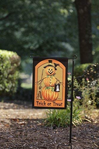 51groups Halloween Garden Flag 12'X18 I Happy Halloween Designer Flag I Trick or