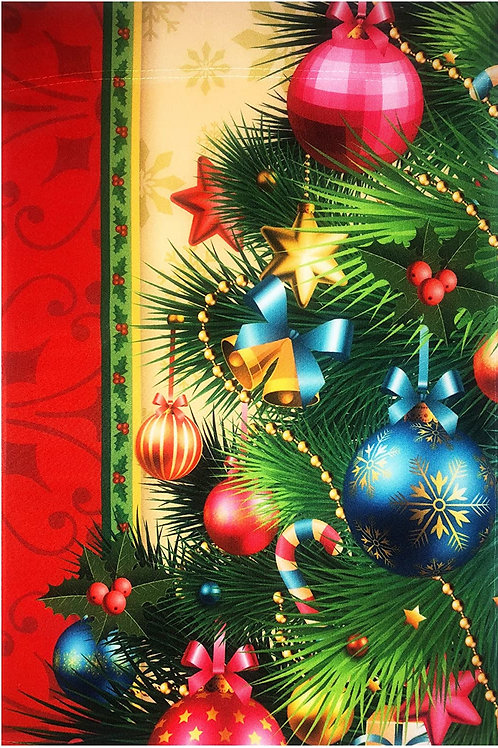 "51groups Garden Flag 12""X18"" Merry Christmas Decorative Flag 100% All Weather Po"