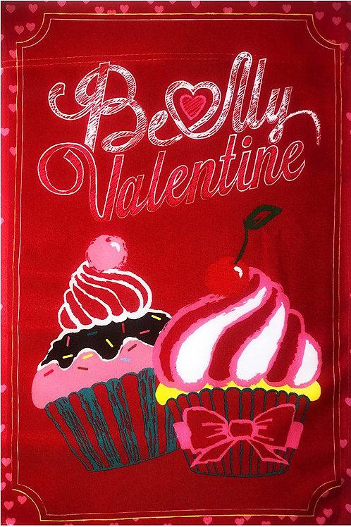 """51groups Happy Valentine's Day Garden Flag 12""""X18"""" Valentine's Decorative Flag 1"""