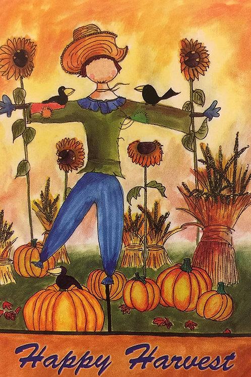 Happy Harvest Scarecrow