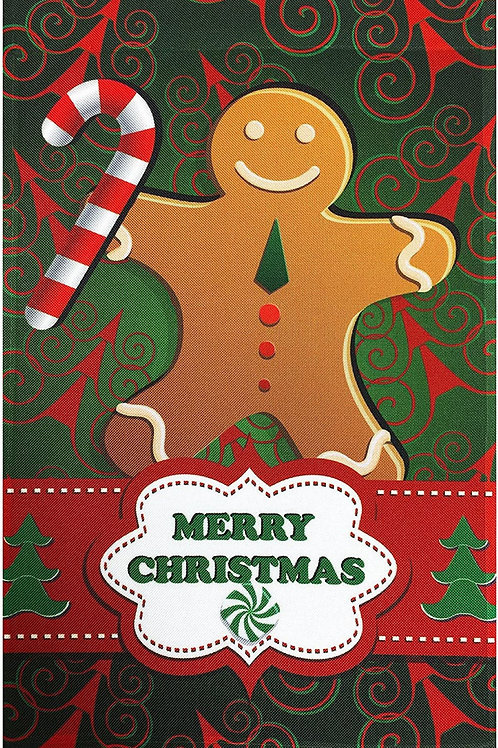 "51groups Winter & Christmas Decorative Garden Flag 12""X18"" Merry Christmas Desig"