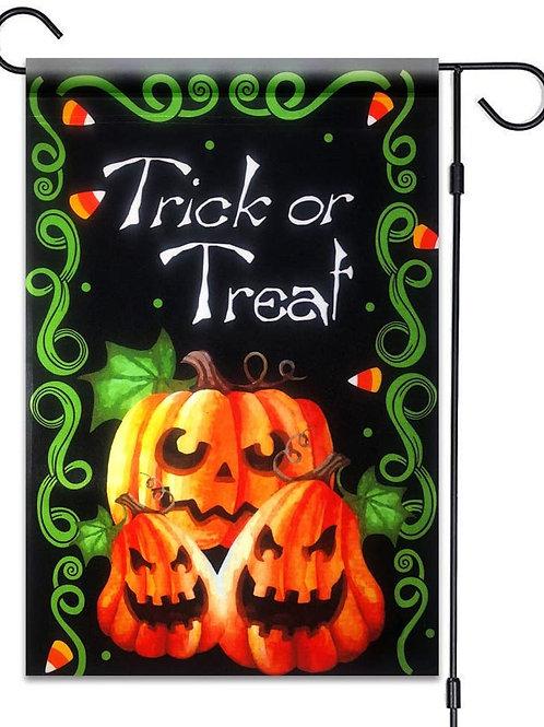 Trick or Treat Halloween Pumpkins