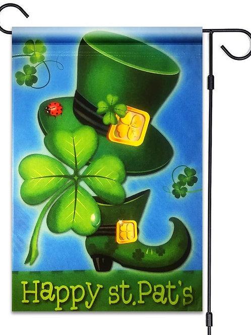 Happy St. Pat's Shamrock Hat Boot