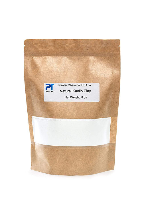 White Kaolin Cosmetic Grade/Personal Care Made in USA (8oz)