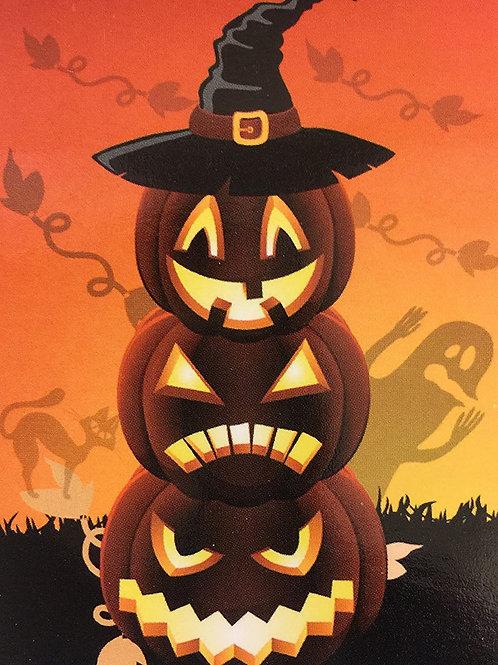 Halloween Glow-in dark Pumpkin