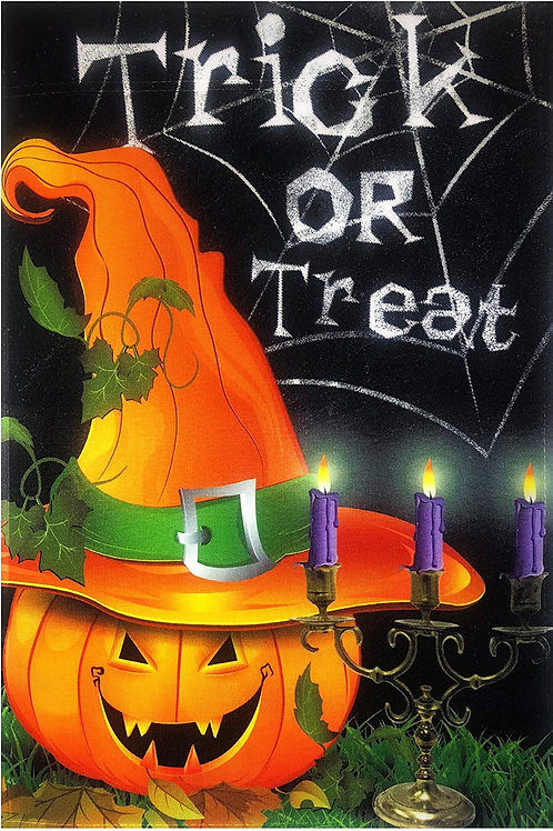 Trick or Treat Pumpkin & Candles